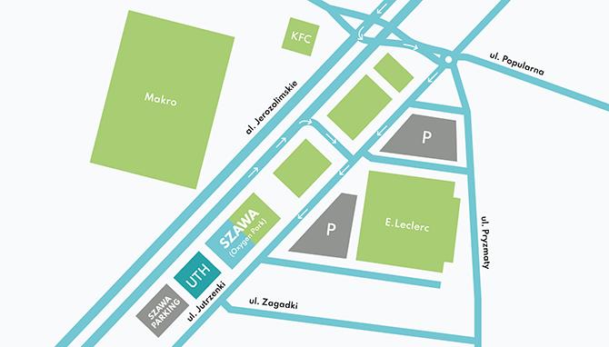 mapa szawa conference